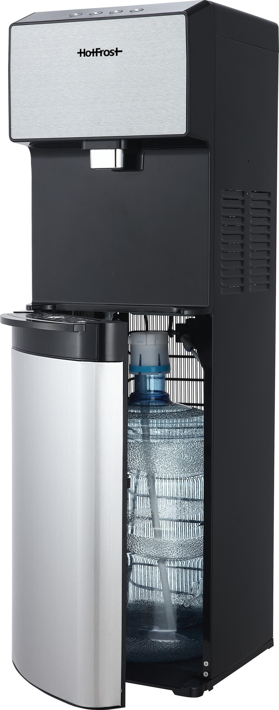 Напольный кулер для воды HotFrost 450ASM с нижней загрузкой с компрессорным охлаждением с системой дезинфекции