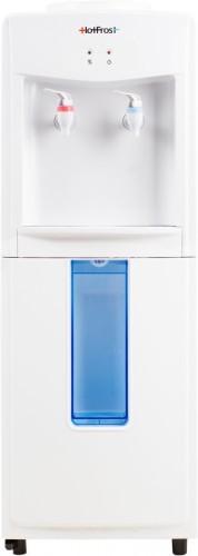 Напольный кулер для воды HotFrost V118F с держателем стаканов