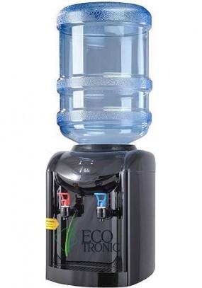Кулер для воды Ecotronic K1-ТE black