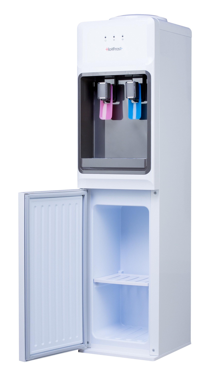 Напольный кулер для воды HotFrost V1133CE со встроенным шкафчиком