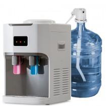 Настольный кулер для воды HotFrost D115 Outside с компрессорным охлаждением с выносной бутылью