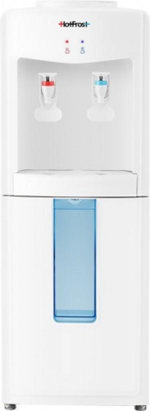 Напольный кулер для воды HotFrost V118E с хранилищем для стаканчиков